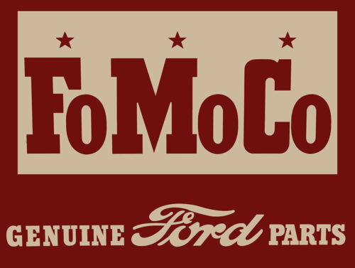 FOMOCO Genuine Ford Parts Metal Signs