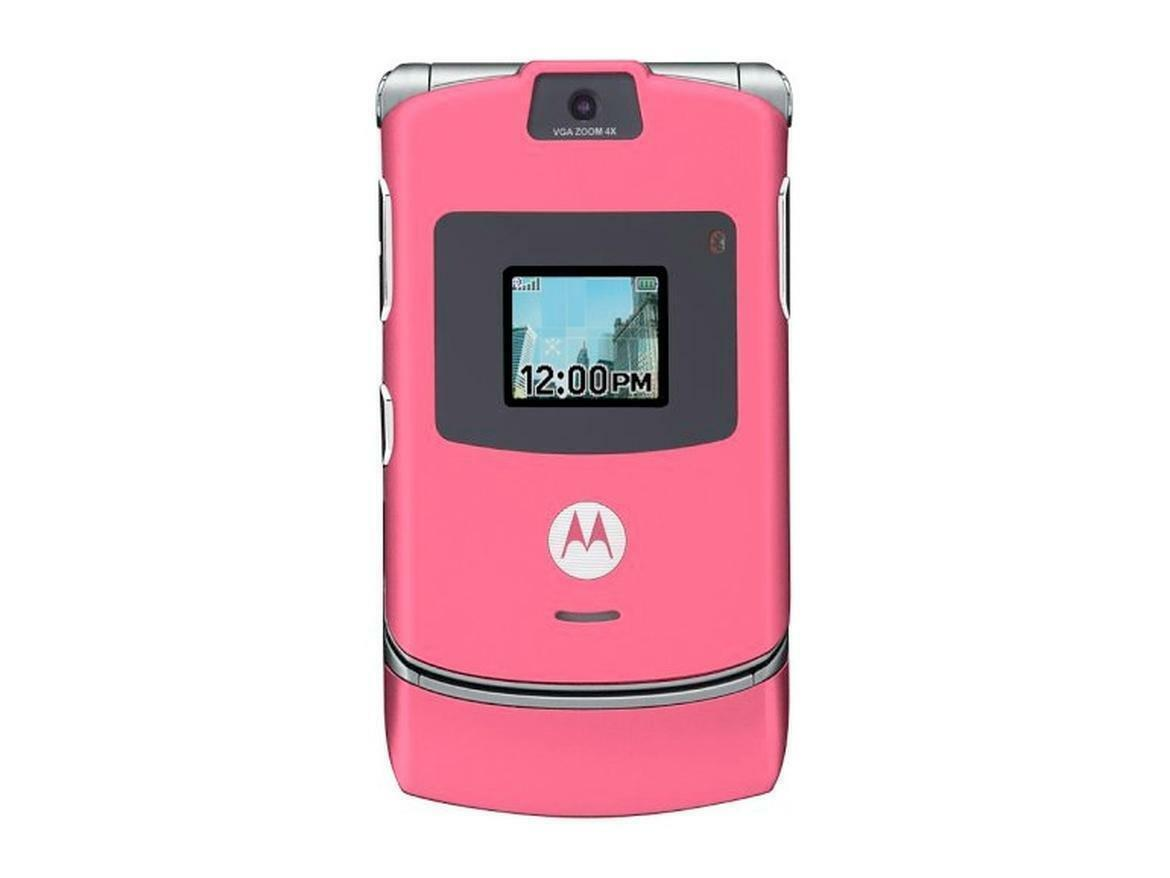 Pink Flip Cell Phones For Sale Ebay