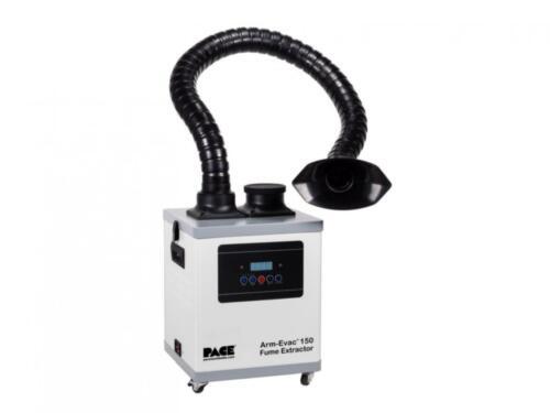 PACE 8889-0150-P1, Arm-Evac 150 Digital Fume Extractor, Wireless Remote,ESD Safe