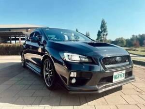 2015 Subaru Wrx Sti Premium (awd) 6 Sp Manual 4d Sedan
