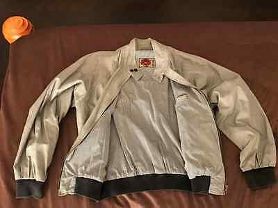 GIANFRANCO FERRE men grey 100%cotton sport coat jacket size US 42 Made in Italy