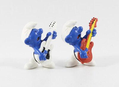 Schlumpf Schlümpfe === 2.0023 == 2 x Beatschlumpf / smurf guitar