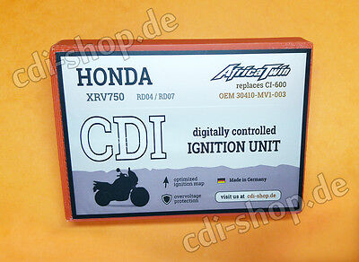 Digitale Zündbox CDI dual-line/programmierbar Honda XRV750 Africa Twin RD04/RD07