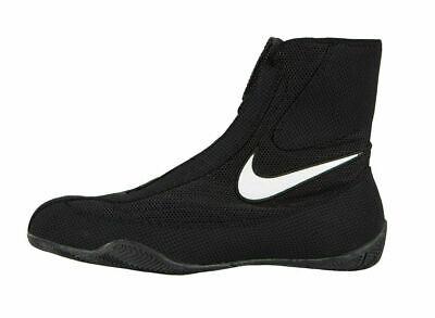 Scarpe da boxe Nike Machomai Mid Boxing Boots Shoes Trainers Nero 47