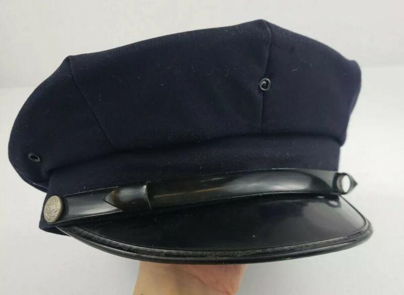 Vintage Fire Department Dress Uniform Cap Fireman