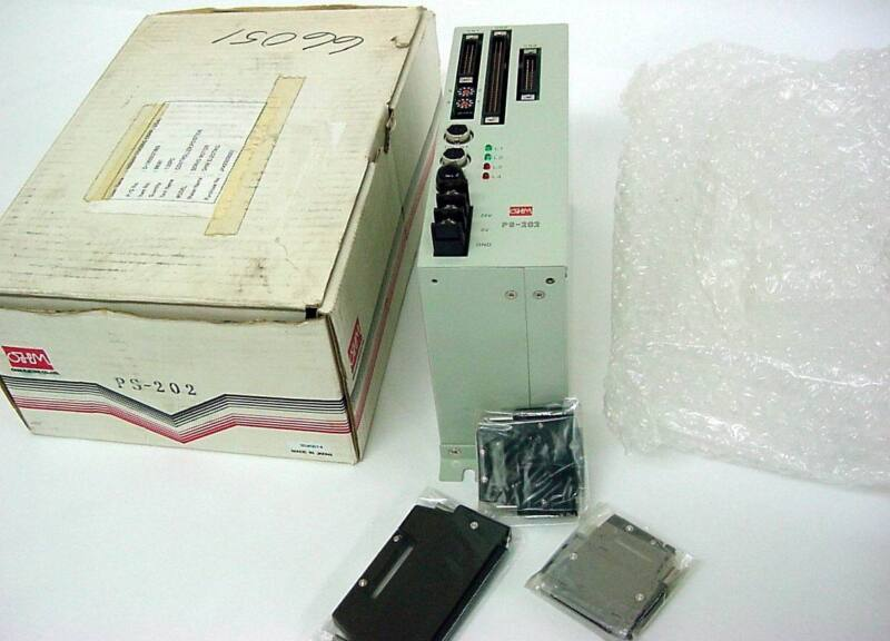 OHM Electric Co, LTD PS-202 Servo Controller (NIB)