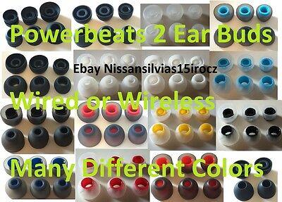 Qualtiy Ear Tips Beats By Dre Powerbeats 2 or 3 Ear Buds Wireless Powerbeats3