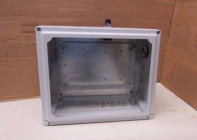 Used Rob Roy Clw1311hw 13x11x5.5 Non Metallic Plastic Enclosure W Window