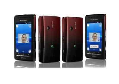 Sony Ericsson XPERIA X8 in Red-Black Handy Dummy Attrappe - Requisit, Deko