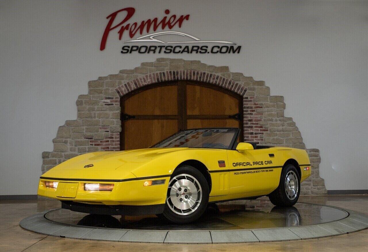 1986 Yellow Chevrolet Corvette   | C4 Corvette Photo 1