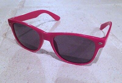 Hot Pink Wayfarer Sunglasses (NEW  Wayfarer Classic Hipster Sunglasses Hot Pink Men Women -)