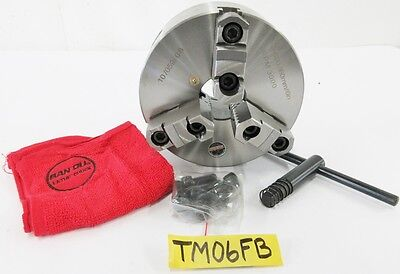 Savon 6 3 Jaw Manual Lathe Chuck W Plain Back Spindle Mounting