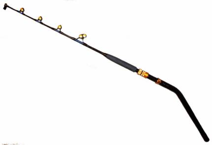 SAGAMI PACIFIC BAY DEEP DROP GAME FISHING ROD BENT BUTT FOR ELECT