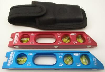 Checkpoint  torpedo level EV300 red or blue w/ armored pouch rare Earth magnets Blue Magnetic Level