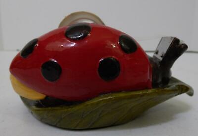 Figi Ceramic Ladybug Desk Top Tape Dispenser 5.5 Long