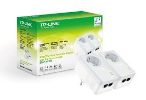 Modem-PLC-TP-LINK-TL-PA4020PKIT-2x-AV500-Powerline-500-mbps-PLCs-Red-Ethernet