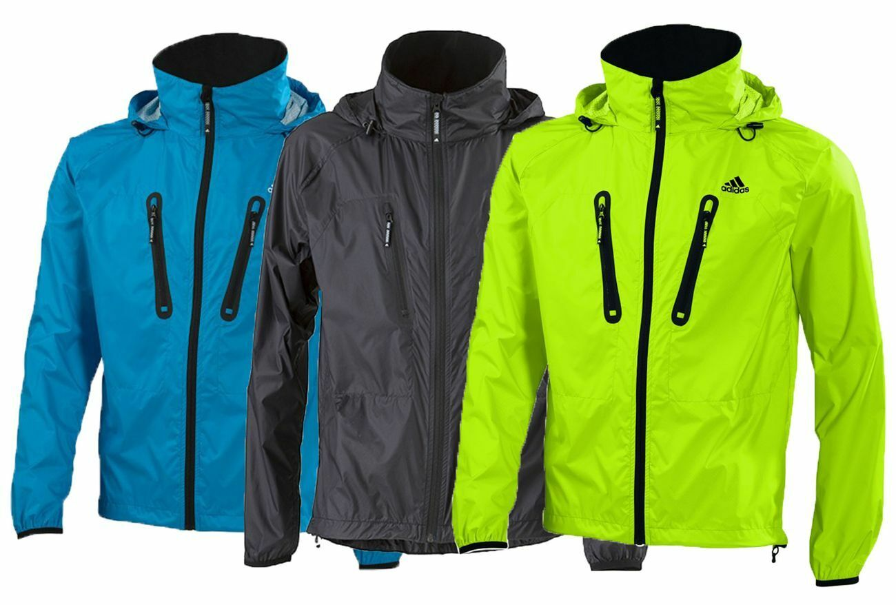 Adidas Sailing Crew Jacket Men Winddicht Wasserabweisend Atmungsaktiv Nylon