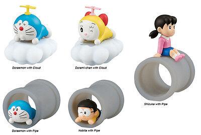 Doraemon Desktop Pvc Collectible Decoration Sd Figure   Set Of Five  10933
