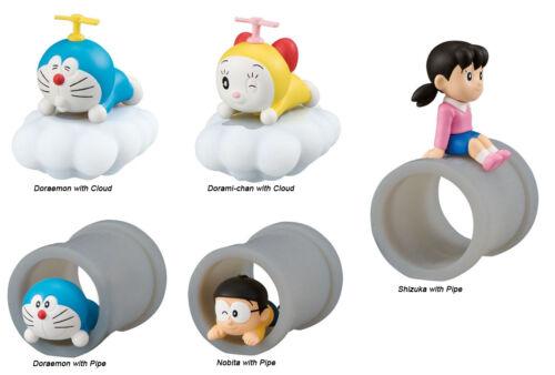 Doraemon Desktop Anime PVC Collectible Decoration SD Figure ~ Set of Five @10933