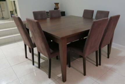 Empire Dining Table And 8 Chairs