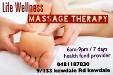 "Life Wellness Massage $75/hr Health fund Provider"" @Kewdale/Perth Kewdale Belmont Area Preview"