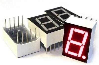 7 Segment Led Display 4pcs Common Anode Digital Display 0.5 In X 0.75 In 10 Pin