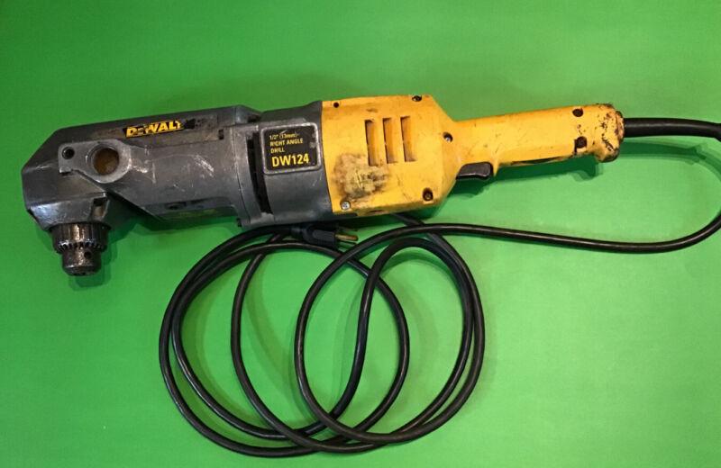 "DeWALT DW124 Corded 1/2"" Right Angle Drill"