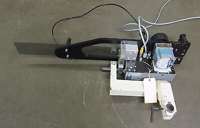 Used Eam Mini-st Automated Label Applicator W Slo Syn Motor Ksl091t2y 240v 1ph