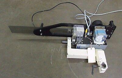 Used Eam Mini-st Automated Label Applicator W Slo Syn Motor Ksl091t2y 240v 1ph
