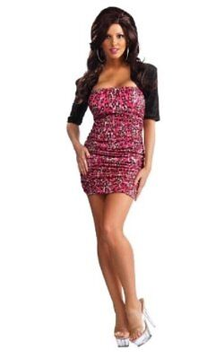 Jersey Shore Show Snooki Adult Costume Licensed Halloween - Halloween Costumes New Jersey