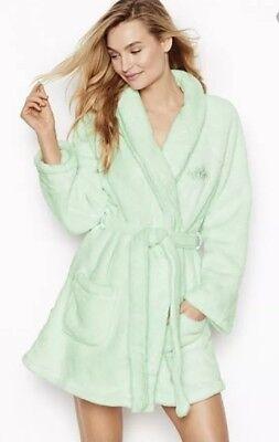 Gemütliche Plüsch (Victoria S Geheim Gemütliche Plüsch Shorts Robe ~ Größe Xs / Klein)