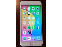 Unlocked Iphone 6 plus silver in very good condition works perfectly upgrading to I phone 7