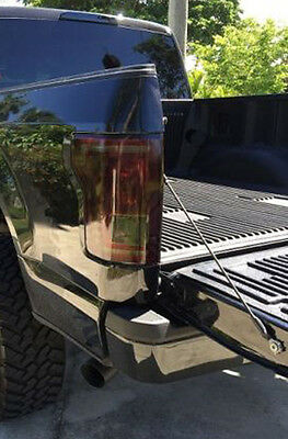 15-20 Ford F150 precut tail light tint vinyl smoked covers $5 refund available