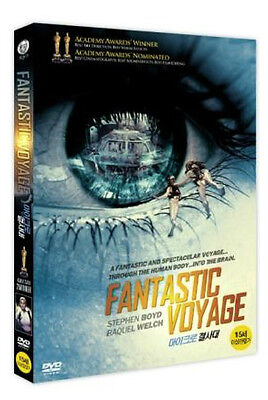 Fantastic Voyage (1966, Richard Fleischer) DVD NEW