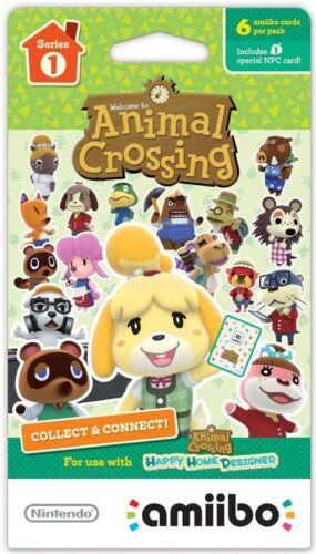 Animal Crossing Amiibo Card Pack Series 1 Single Pack  - $20.25