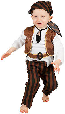 Mini-Seeräuber Pirat Kleinkinderkostüm NEU - Jungen Karneval Fasching Verkleidun ()