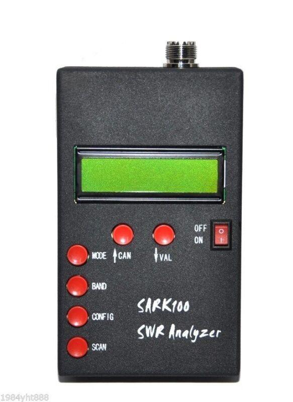 ANT SWR Antenna Analyzer Meter For SARK100 Ham Radio Hobbists New
