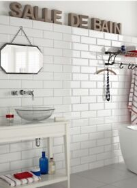 Diamante tiles (white) from Topps Tiles