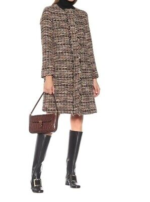 Etro Women cotton blended TweedCoat sz 48