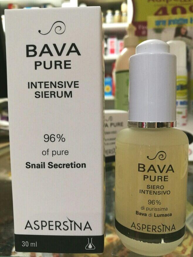 Aspersina - Bava pure siero - 96% bava di lumaca