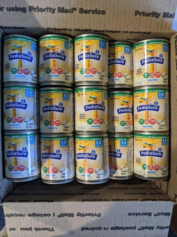 BRAND NEW PediaSure 1.5 Cal Vanilla 8 oz. 24 Cans