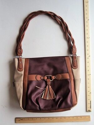 ROSETTI WINE BERRY Burgund Coffee Brown Purse Hand Bag Style Tote - FLASH SALE