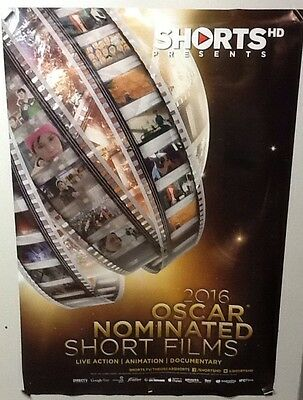 Original Movie Poster For 2016 Oscar Nominated Short Films Double Sided 27X40