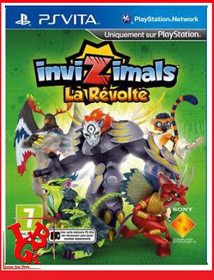 INVIZIMALS LA REVOLTE PSVITA Playstation Jeu Video Ps Vita Français fr portable