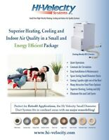 Hi-Velocity Heating, Cooling and Air Purification Systems