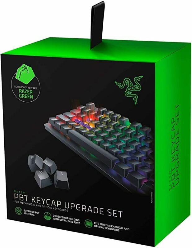Razer Doubleshot PBT Keycap Set 120 keys US/UK layouts Open Box
