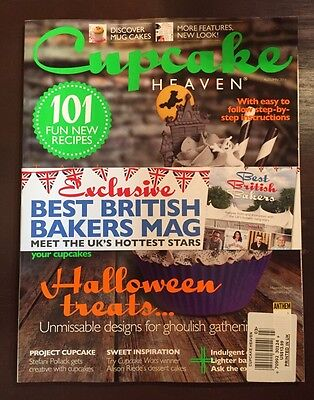 Cupcake Heaven Best British Bakers Recipes Halloween Autumn 2015 FREE SHIPPING - Halloween Cup Cake Recipes
