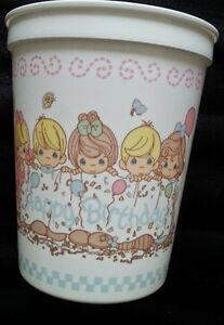 Precious Moments Party CUPS Birthday Supplies Decoration Favors Stadium Plastic