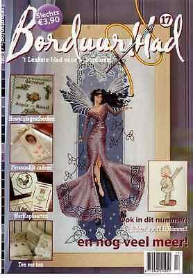 oop Netherlands cross stitch magazine BORDUURBLAD No.17 hummel