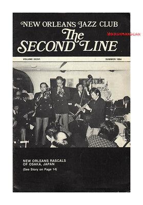 THE SECOND LINE 1984 New Orleans Jazz Ray Bauduc Jazz around 1900